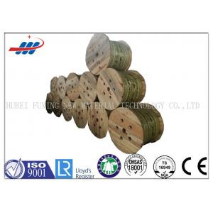 China High Tensile Safety Elevator Wire Rope 6x19 Durable With 6 - 22mm Dia on sale
