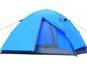 China Modern Design Outdoor Pop Up Family Tent With Oxford Floor And Fiberglass Pole on sale