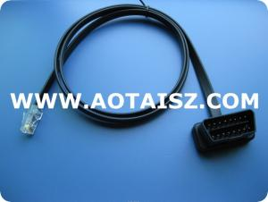 China auto diagnostic cable obdii cable on sale