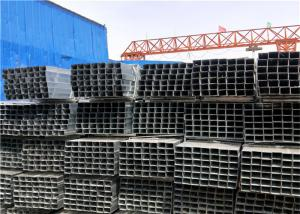China Dimensional Stable Carbon Steel Square Tube Durable Pre - Galvanized  Zinc Coating on sale