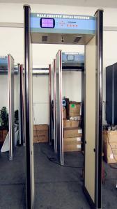 China Walk through metal detector,Airport Metal Detector Security Gate,8 Zones Door Frame Metal Detector on sale
