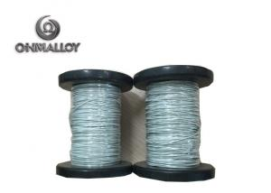 China PTFE Flat Teflon Insulated Wire / High Temperature Resistance Nicr 80 20 Cable on sale