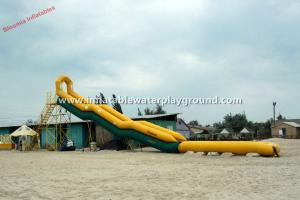 China Residential Rent Inflatable Water Slides For Adults / Backyard Water Slide on sale