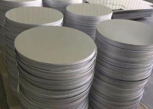 China Low Density 1050 1100 Aluminum Round Disc , Die Casting Aluminum Circle Blanks on sale