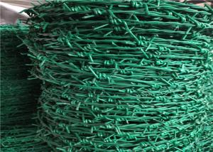China High Tensile PVC Coated Concertina Barbed Wire Use For Security Fencing on sale