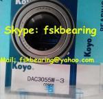 KOYO DAC25520037 Auto Wheel Bearing Double Row 25mm × 52mm × 37mm