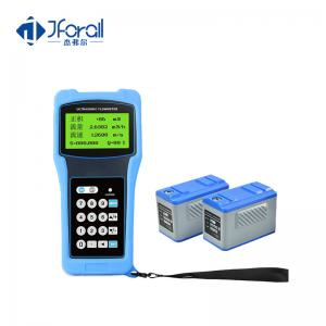 China RS232 Handheld Ultrasonic Flow Meter on sale