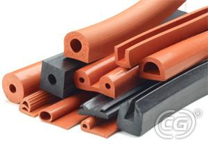 China Durometer Car Epdm Rubber Seal Extrusions 70 With Antifreeze Surface on sale