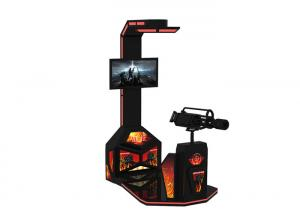 China 9D Virtual Reality Flight Simulator Arcade Game Machine With HTC VR Headset on sale