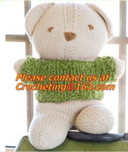 China New design soft & lovely knit plush Littl, animal shaped whistle toys, colorful animal toy on sale