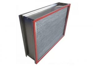 China Customized 1000m3/h H14 HEPA Air Filter with Stainless Steel Frame on sale