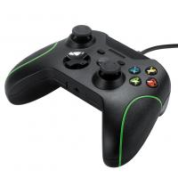 Factory cheap wired Xbox one controller gamepad joystick black color 1.2M cable