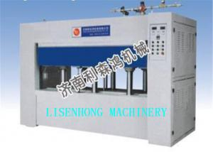 China Positive Pressure Pvc Vacuum Membrane Press Machine 2550*1270mm Working Plates on sale