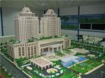 Large Scale Hotel Building Model With Details, Construction 3d Model Architecture