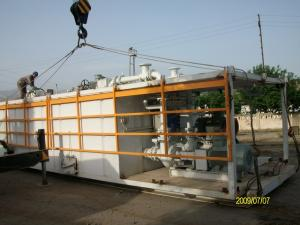 China Drilling Fluid Recycling Tank, Solid Control System, C / W shale shaker, desander on sale