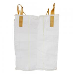 China 1 Ton Flat Bottom Woven Polypropylene Bags For Agriculture Products 800kg / 1000kg on sale