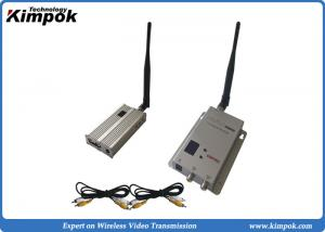 China 900Mhz Long Range Wireless Video Transmitter and Receiver 3-4km for CCTV Surveillance on sale