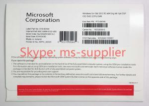 China Online System Builder Windows Server 2012 OEM Activation Guarantee 64 Bit on sale