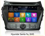 8 inch 2 Din Touch Screen Car GPS Navigation System for Hyundai IX45 / Santa Fe