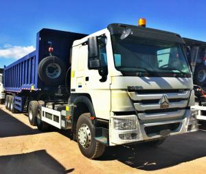 China 12 Wheels Dump Truck Trailer 12R24 Tire 70 Tons Strengthened Tipping Type on sale