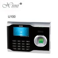 ZKteco U100 TCP/IP Biometric Fingerprint Time Attendance Time Clock Employee Attending