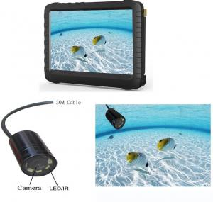 China Mini Underwater Spy Camera Fish Finder 5inch DVR NTSC  PAL TV System on sale