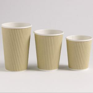 China Offset Printing Biodegradable Kraft Paper Cups on sale