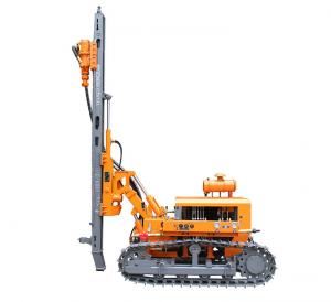 China 410B 3 Hammer Bits Drilling Rig Machine , ZGYX Energy Saving Rock Drilling Rig  on sale
