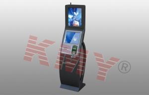 China Internet Cash Dispenser Payment Self Service Banking Kiosk Lobby Type on sale