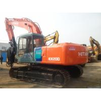 Hitachi EX200-3 Used Crawler Excavator Crawler 2910mm Stick Length 0.8cbm Bucket