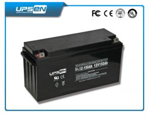 China Solar Deep Cycle Sealed Lead Acid Battery 65ah / 80ah / 1000ah / 2000ah on sale