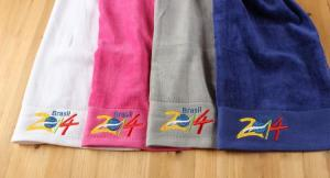 China Good Quality 100% Cotton Customized Logo Embroidered Hand Towel on sale