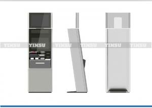 China 17 Inch Monitor Automated Kiosk Machines / Self Service Terminal For Outdoor supplier