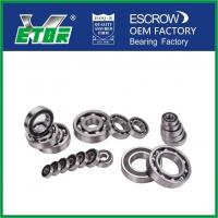 High Speed Deep Groove Radial Ball Bearings For Automobiles / Motorcycles
