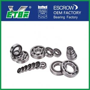 China High Speed Deep Groove Radial Ball Bearings For Automobiles / Motorcycles on sale