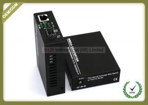 China SFP Slots 10/100/1000M Gigabit Ethernet SFP Media Converter/10/100/1000 M Media Converter SFP Port Fiber Converter on sale