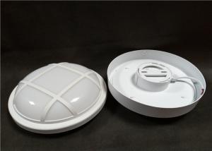China Energy Saving Plastic LED Bulkhead Lamp , 6500K Outdoor Corridor Surface Mounted Wall Lights on sale
