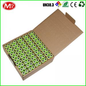 China High quality Rechargeable batteries 18650 3.7V 2500mAh ion battery with good reputation Lishen brand on sale