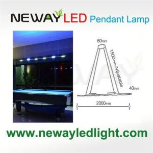 China Remote Control Direct Indirect Linear Pendant Lighting 3W COB LED on sale