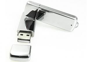 China Metal Shape Micro USB Memory Stick 4GB 8GB 16GB 32GB 10 ~ 30MB/S Various Color on sale