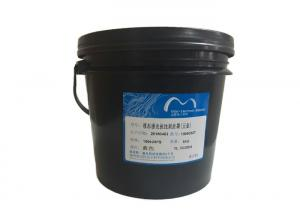 China Glass Surface PCB Printing Ink Photoimageable Curing Blue Color Etching Resist Ink on sale