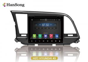 China 8 Inch Hyundai CAR DVD 1024X600 Hd Screen NXP6686 Radio Capacitive Touch Screen on sale