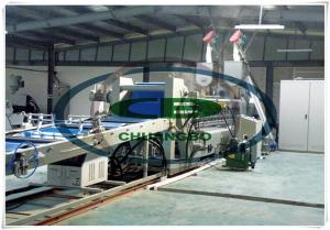 China how make recycled PET flakes into sheet extrusion production line on sale