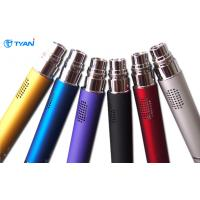 Black 350mah Bluetooth E Cigarette Electronic Cigarettes 1.6ml Atomizer 3.2V ~ 4.2V