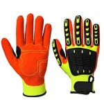Anti Impact Gloves with TPR Knuckle Protection for Oil and Gas Safety