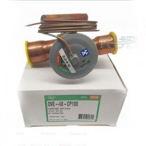 China Ove-40-Cp100 R407c Thermal Expansion Valve Gas Sporlan Wrought Brass Body Material on sale