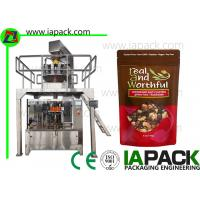 China Stand Up Pouch Filling Sealing Machines Premade Zipper Bag Packing Equipment Manufacturer on sale