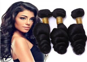 China No Shedding No Tangle  Indian Human Hair Weave For Sexy Black Women on sale