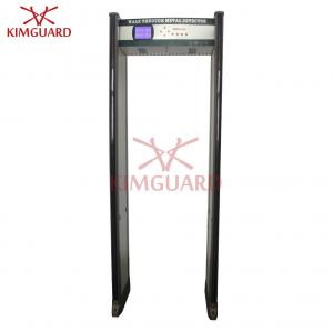 China Full Body 33 Zone Door Frame Metal Detector Factory Traffic Lights With Bidirectional Counter on sale