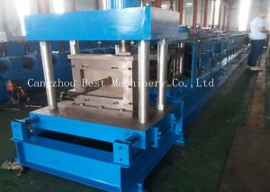 China Automatic Galvanized Cold Roll Forming Machine 380v 3 Phase 50 Hz Frequency on sale